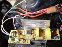 Auto-réparation aspirateur sans sac Bluesky