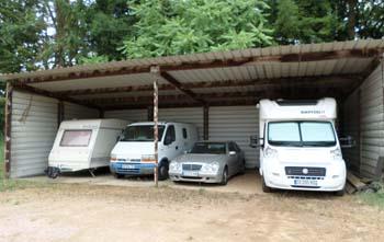 Hangar Camping Car hivernage camping-car, caravanes bateaux 58 et 18