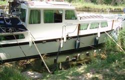 amarrage bateau a quai