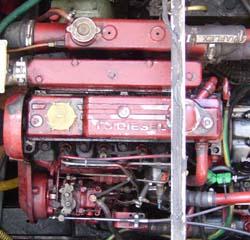 contrôle turbo car fumée bleu