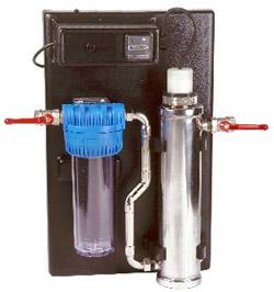 Lampe UV de stérilisation pour réservoir camping car ou bateau 12 volts 6 watts